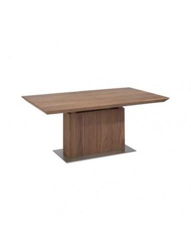 Mesa extensible Galan en madera de Nogal