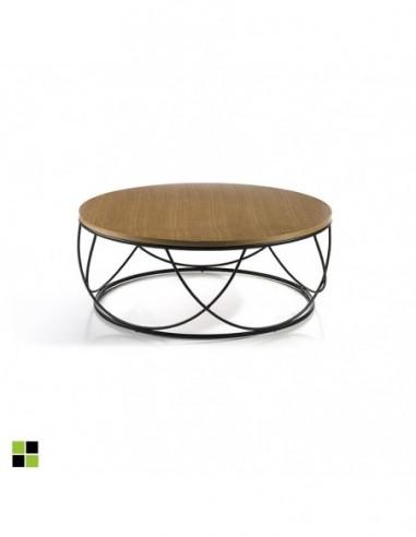 Mesa de centro circular mod. Tampa