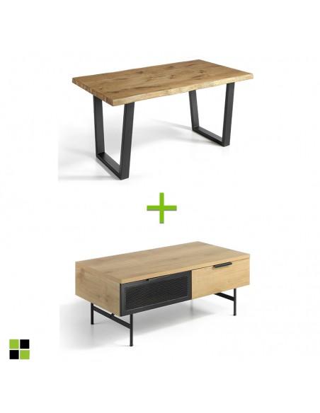 Pack mesa Madeira + mesa...