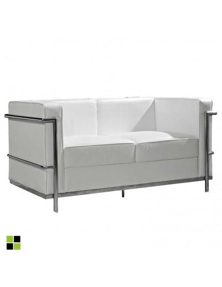 Sofá de diseño de 2 plazas...