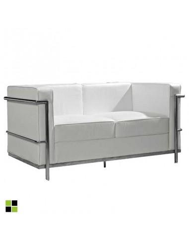 Sofá de diseño de 2 plazas Leco en...