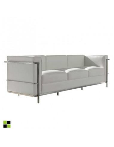 Sofá de diseño de 3 plazas Leco en...