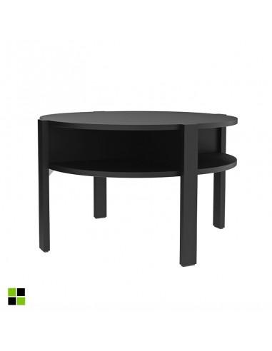 Mesa de centro Bato en negro mate