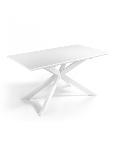 Mesa extensible blanco mate mod.Verano