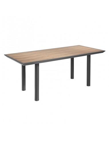 Mesa rectangular Liba en nogal