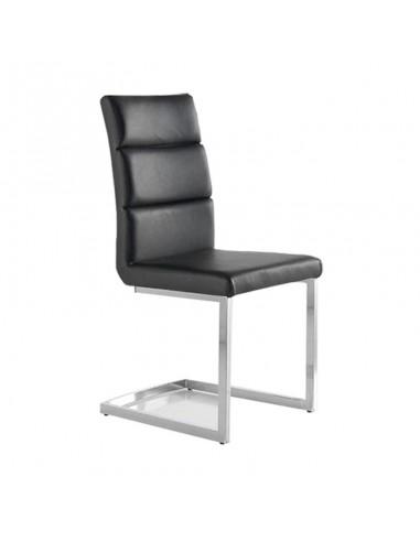 Pack 4 sillas Milo color negro