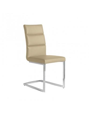 Pack 4 sillas Milo color capuchino