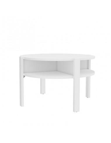 Mesa de centro Bato en blanco