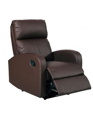 Sillón relax Tavira color marrón