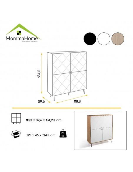 Mesa Montes + 2 Taburete Moli