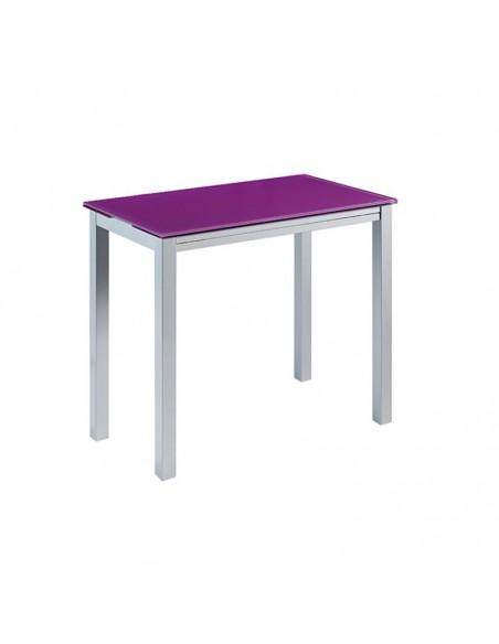 Conjunto mesa mod. Novi + 4 taburetes Moli