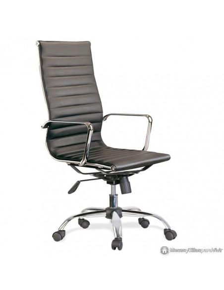 Silla de despacho Office Negra