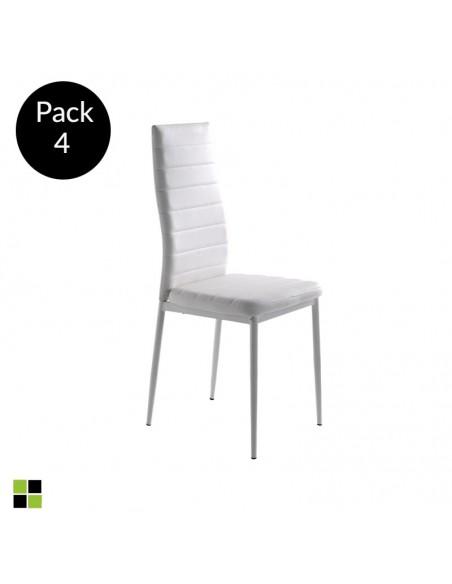 Pack 4 sillas Clara