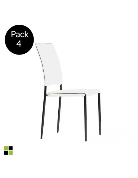 Pack 4 sillas Driana